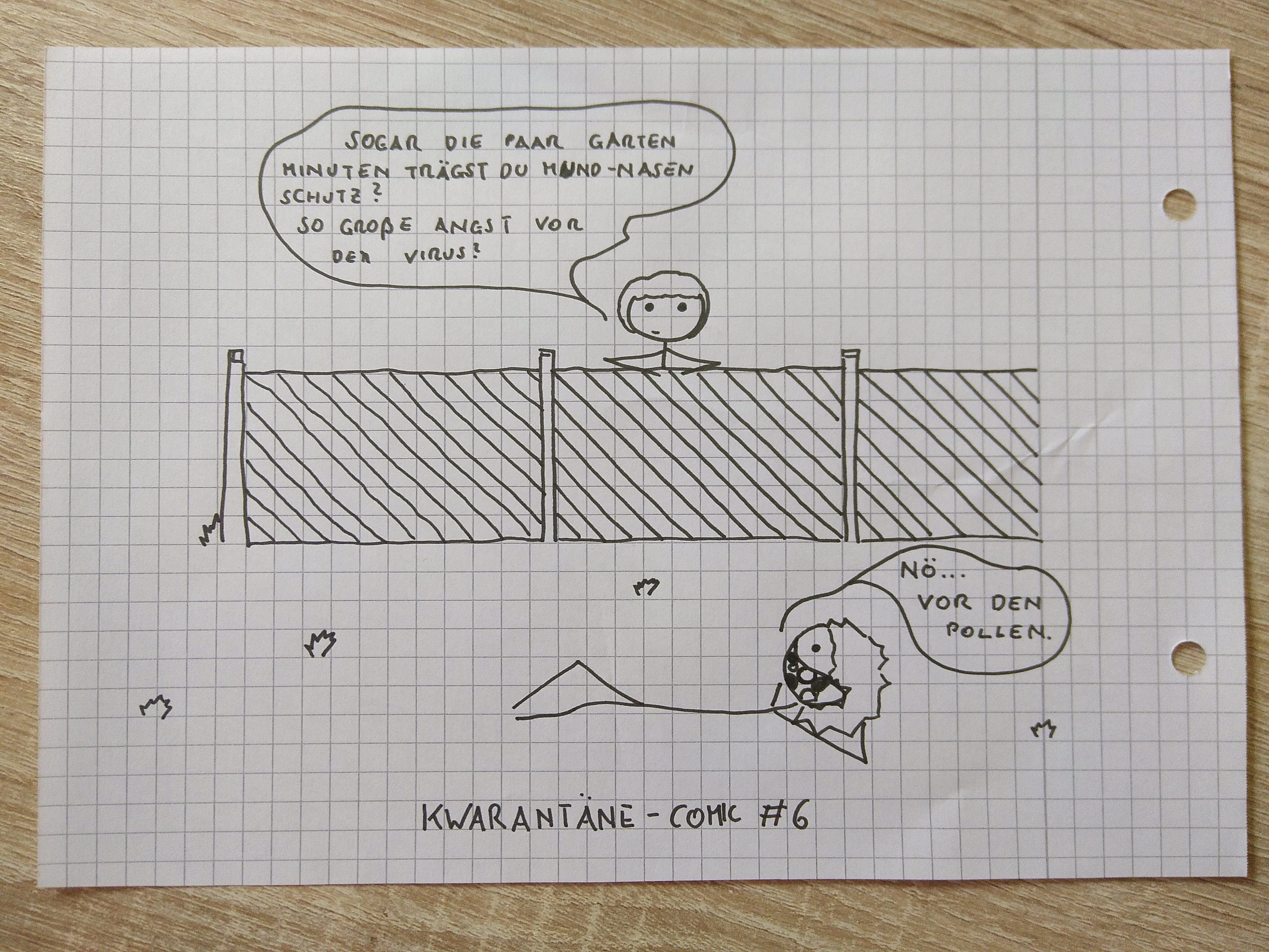 Kwarantäne Komik #6
